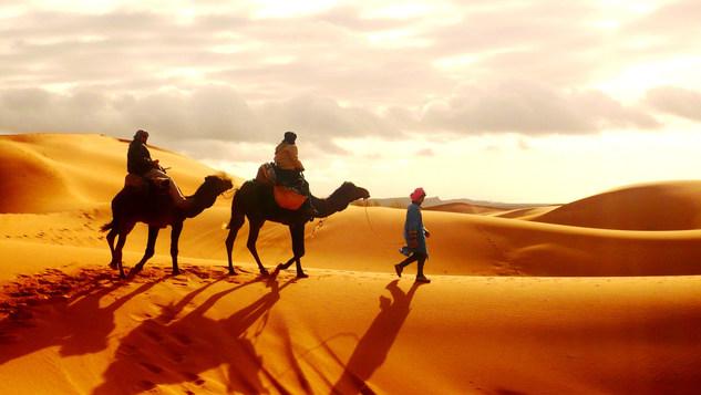 Camel ride Sahara desert.JPG