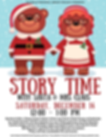 Storytime with Santa & Mrs. Claus 11.12.