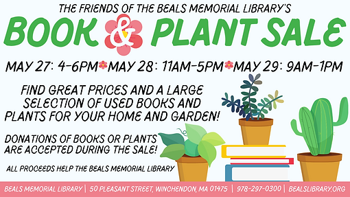 Wide Book & Plant Sale Updated 5.11.21.p