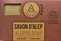 Alepeo Cosmos Ecocert Aleppo Seife Laven
