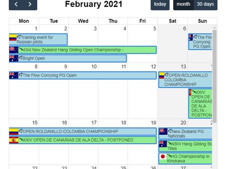¡¡¡ Eventos 2021 !!!
