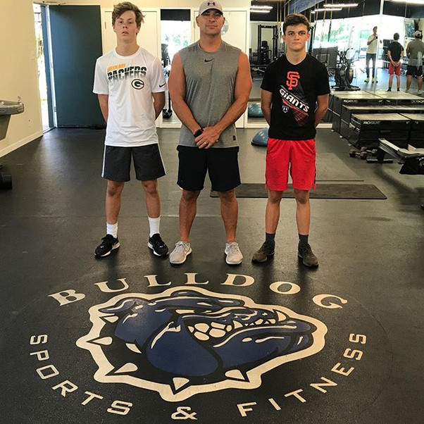 So proud of my boys for putting in tons of hard work this summer _thebulldoggym ! _Best of