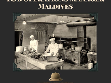 F&B Ops Manager - Maldives