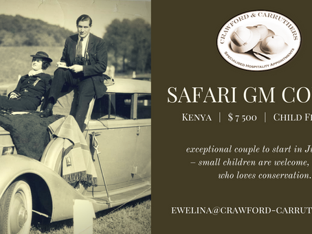 Safari GM Couple - Kenya