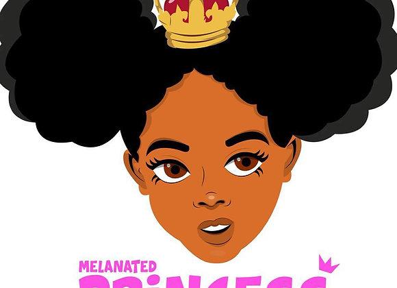 Melanated Princess (T-Shirt)