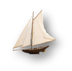 Antique Model Sailing Boat.jpg