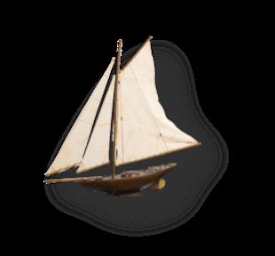Antique Model Sailing Boat.jpg