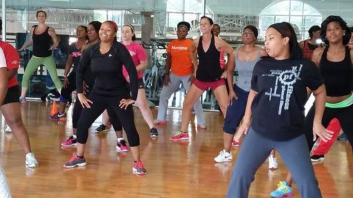 Dance Fitness Class at Springdale Recreation Center