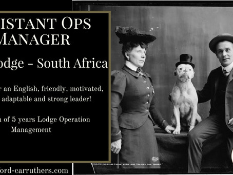 Assistant Operation Manager - South Africa