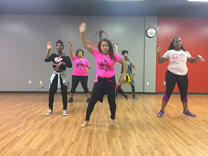 Dance Fitness Class at Redefind Studios