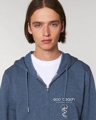 Men's Organic Beach Zipper Hoodie