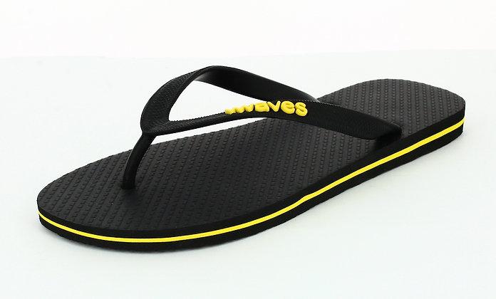 Men's Natural Rubber Flip Flops - Tapered