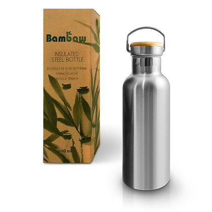 sustainable eco friendly insulated drinks bottle