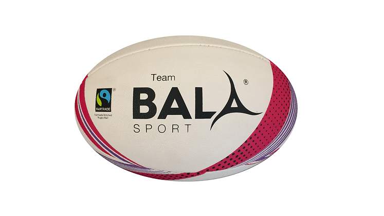 fair trade sustainable eco friendly rugby ball