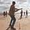 Thumbnail: Wooden Beach Rounders Set