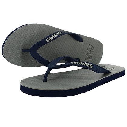 Men's Natural Rubber Flip Flops - Two-tone