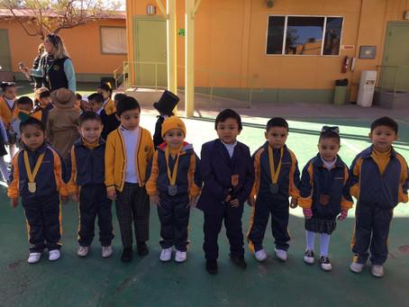 Ganadores de Torneo de Tae Kwon Do Preescolar