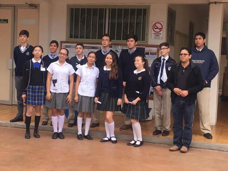Alumnas de Secundaria representan a B.C. en Concurso Nacional de Talentos 2019.
