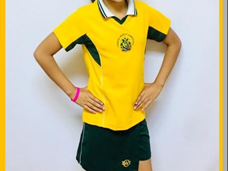 Alison Ruiz Rojas Alumna destacada en Atletismo.