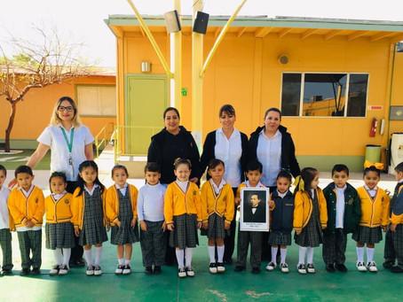 Asamblea Cívica Preescolar.