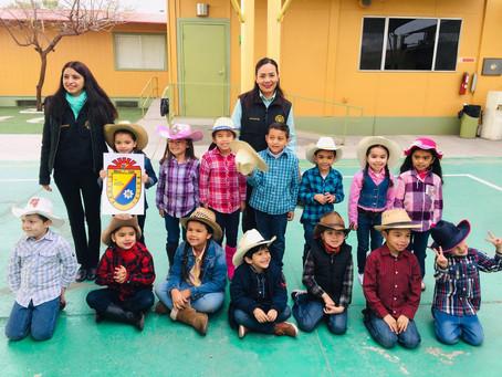 Asamblea Cívica Preescolar -116 Aniversario de Mexicali.