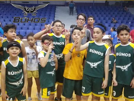 Escuela Deportiva Básquetbol Infantil