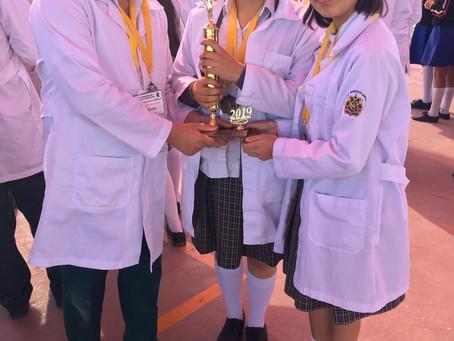 Colegio MéxicoAmericano Secundaria obtiene 1ro. y 2do. Lugar en el XIX Concurso de Ciencia y Tecnolo