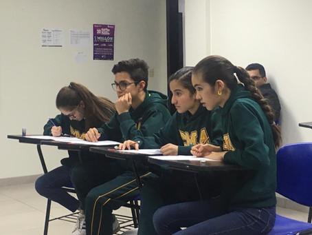 Alumnos del equipo representativo de matemáticas de secundaria van a la final de la Olimpiada Invict
