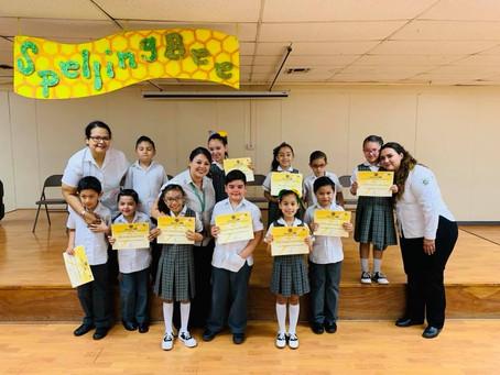 Concurso Spelling Bee 2019 1er. grado Primaria.
