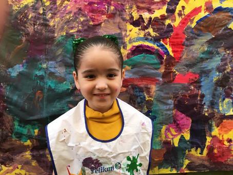 Actividad de Arte en Preescolar