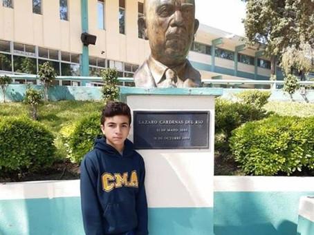 Éxito a nuestro alumno de Secundaria Joel Camargo Campa, en la Olimpiada Mexicana de Matemáticas, a