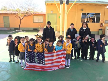 Asamblea Cívica a President´s Day Preescolar