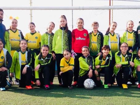 Éxito a nuestras alumnas del equipo de Fútbol Femenil en el Estatal de Interprimarias en la Ciudad d