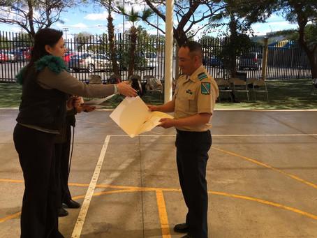 Concurso de Escoltas Escolares y Demostración de Bandas de Guerra 2019, V Zona Secundarias Generales