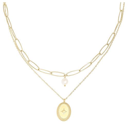 Halskette pretty in pearl