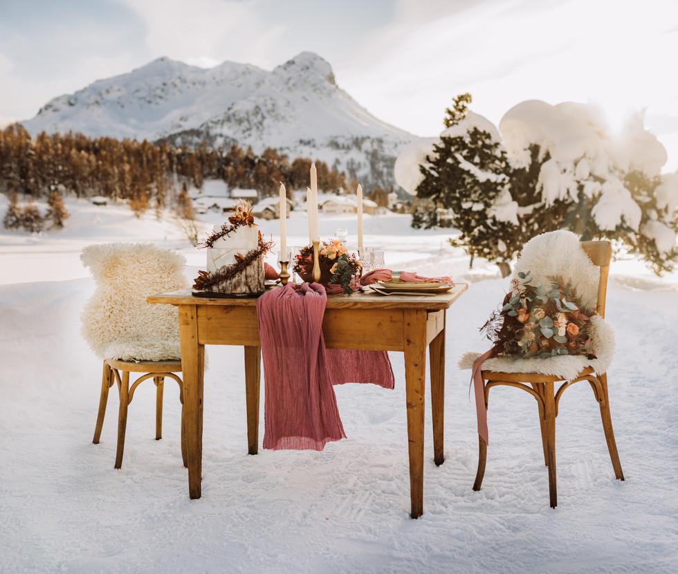 Styled Shooting St. Moritz