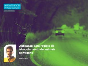 Aplicação para registo de atropelamento de animais selvagens