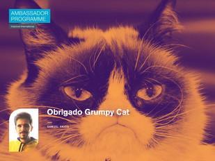 Obrigado Grumpy Cat