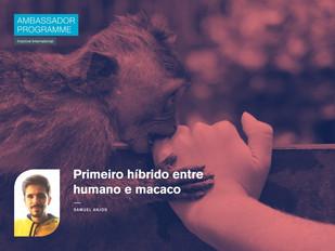 Primeiro híbrido entre humano e macaco