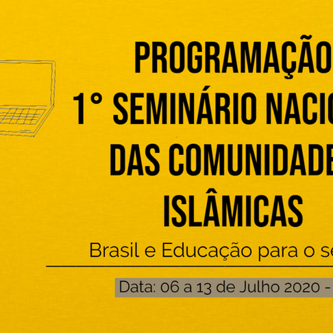 1º Seminário Nacional das Comunidades Islâmicas