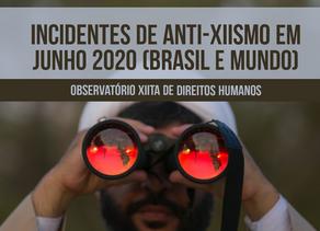 Incidentes de anti-xiismo em junho 2020