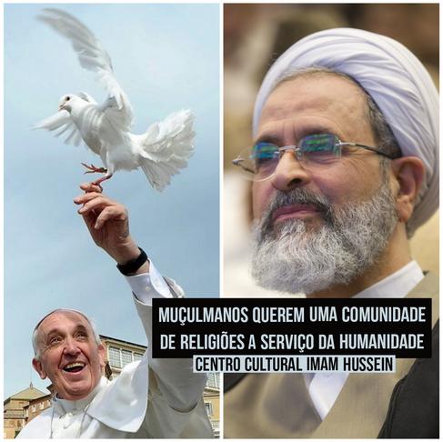 Carta do Aiatolá  iraniano ao Papa Francisco: unidos no serviço