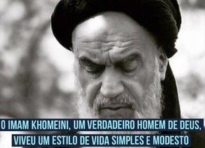 O Imam Khomeini, um verdadeiro homem de Deus, viveu um estilo de vida simples e modesto