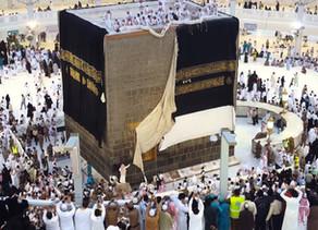 Por que a cobertura do Kaaba é preta?