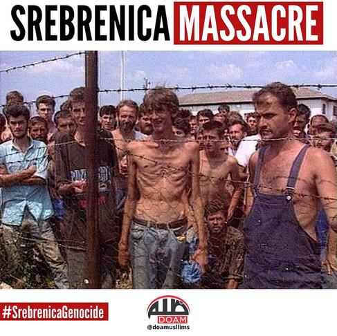 O Genocídio Muçulmano em Srebenica