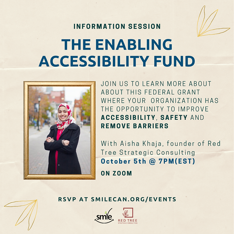Enabling Accessibility Fund: Information Session