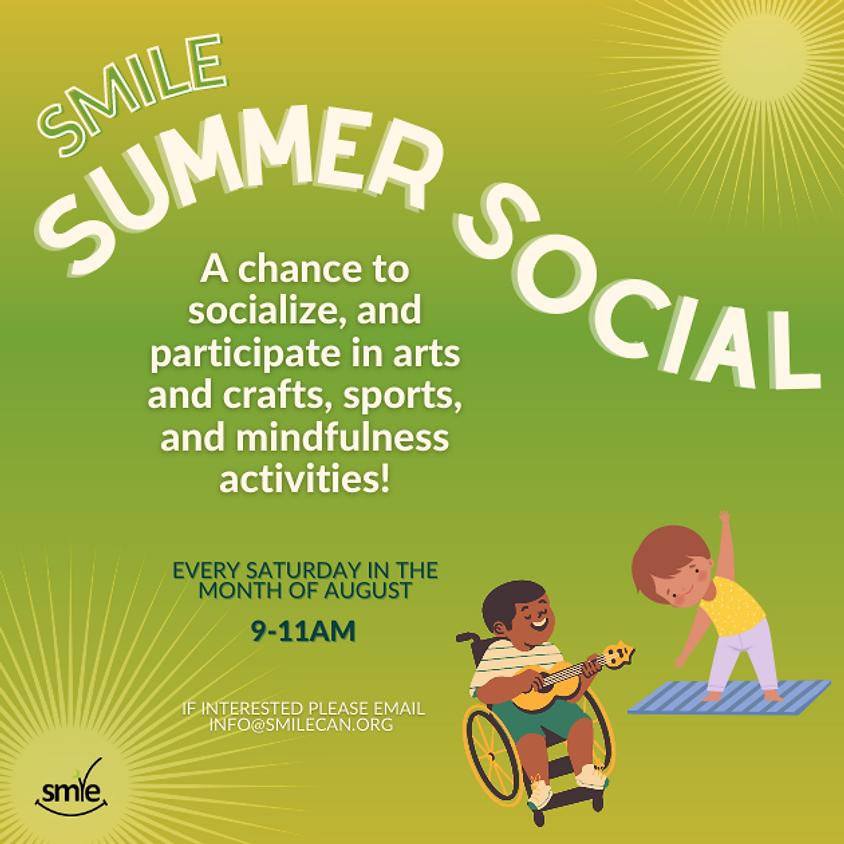 SMILE Summer Social!
