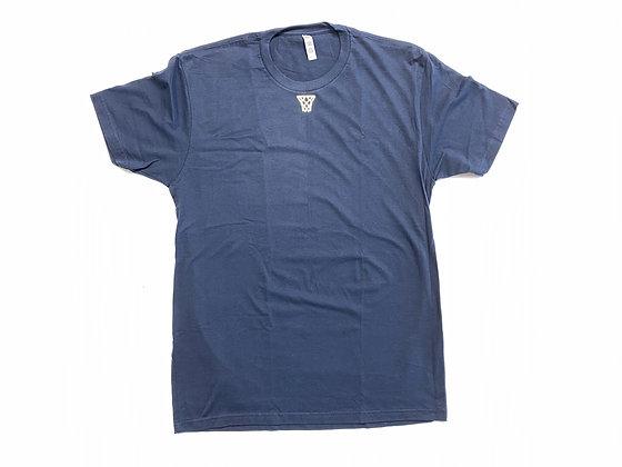 Gold Net Classic Center Chest Logo T-Shirt