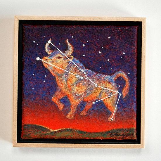 "Constellation Taurus - 9"" x 9"""