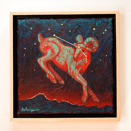 "Constellation Aries - 9"" x 9"""